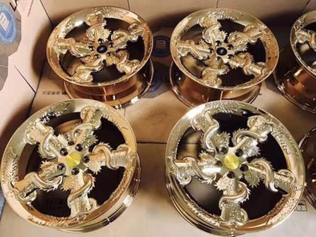 Якудза одобряет: колесные диски из ночных грез
