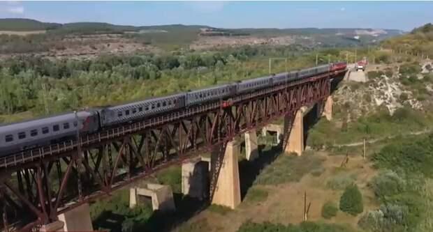 В следующем году в Крыму отремонтируют 9 железнодорожных платформ