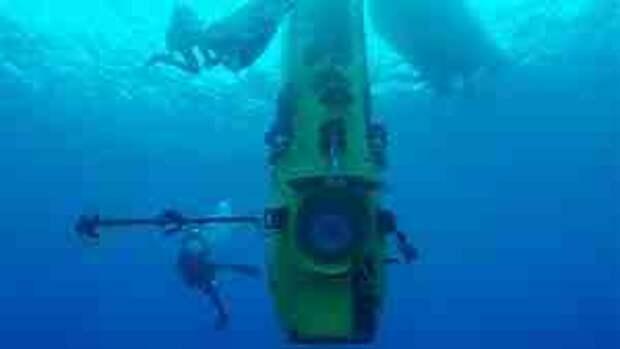 Голливудский режиссер Джеймс Кэмерон сегодня совершил успешное погружение в глубочайшую точку нашей планеты - Марианскую впадину в Тихом океане, ...