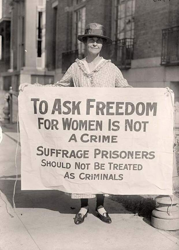 Активистка борющаяся за права женщин