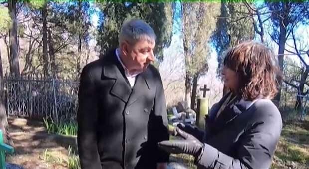 Где находится могила маленькой дочери русского писателя Корнея Чуковского