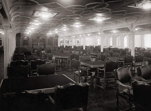 4. Главный обеденный зал Титаника. история, мир, фотография