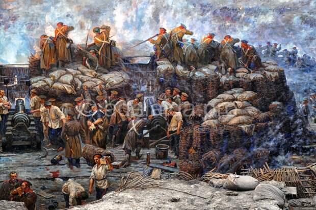 Оборона Севастополя - третий бастион.