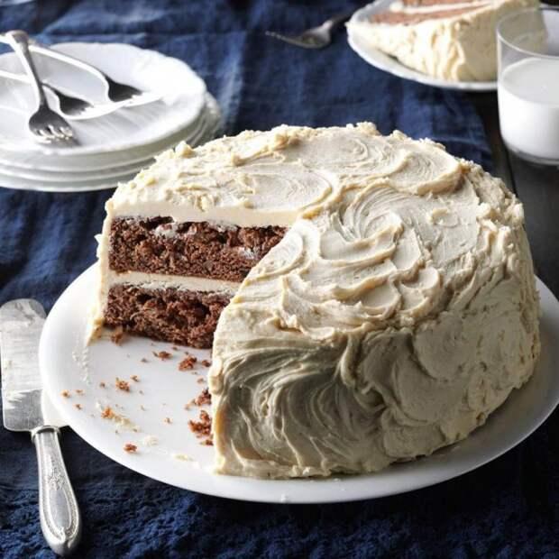 Ананасовый торт с джемом