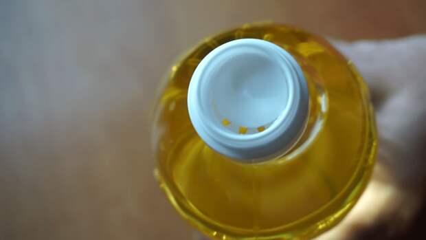 Как правильно открыть крышку от растительного масла