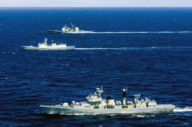 Военный флот Китая стал самым большим в мире