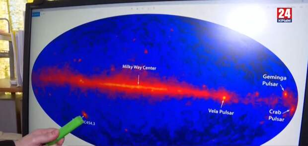 Крымские учёные нашли способ изучить двойную чёрную дыру