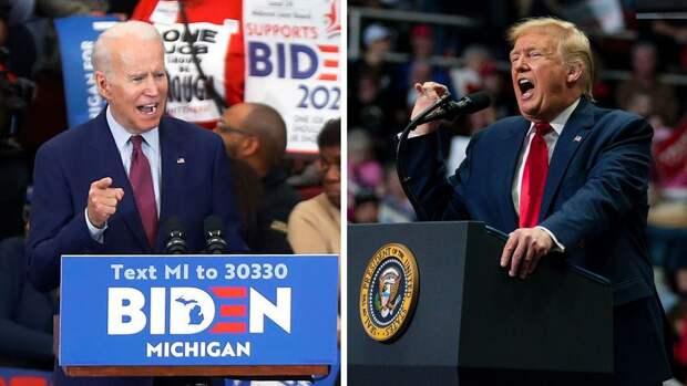 Предвыборная речь Байдена стала популярнее аналогичного выступления Трампа