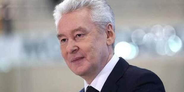 Собянин вручил московским предпринимателям премии «Прорыв года»