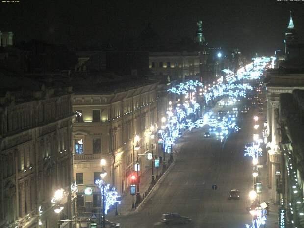 Петербург возглавил топ городов для празднования Нового года
