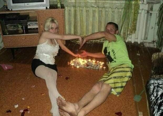 Счастливые отношения - это те, в которых спустя годы есть место романтике любовь, мачо, прикол, романтика, романтки, соцсети, фото