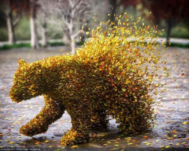 Что будет, если художник объединит природу, человека ицифровую реальность
