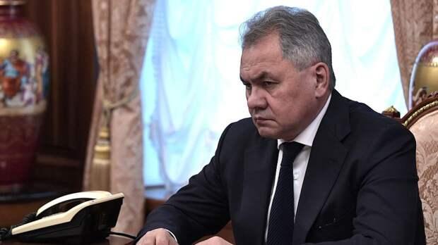 Шойгу заявил о продолжающихся провокациях НАТО и США в Черном море