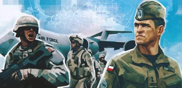 Исполненная польскими солдатами песня о походе на Львов вызвала ажиотаж среди россиян