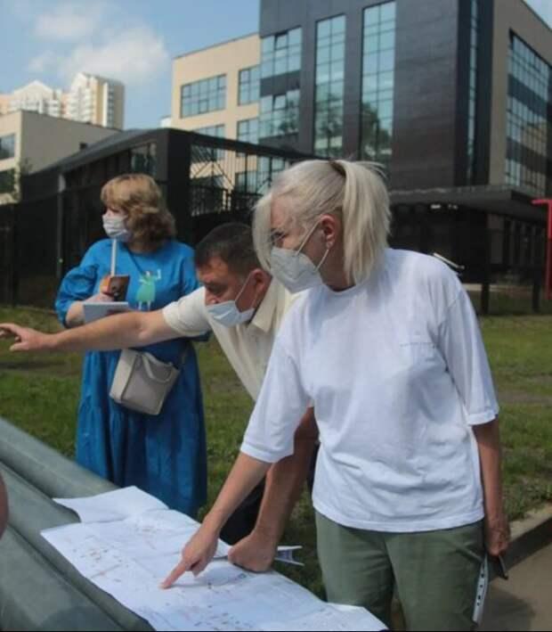 Депутат ГД Ирина Белых: «Путь в новую школу на Валдайском проезде будет безопасным»