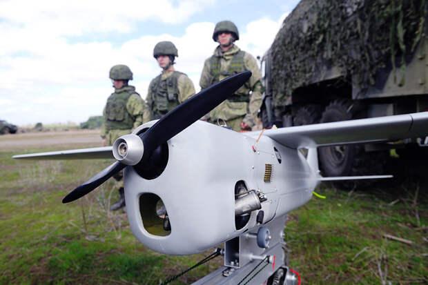 Военные используют беспилотники для поиска лесных пожаров