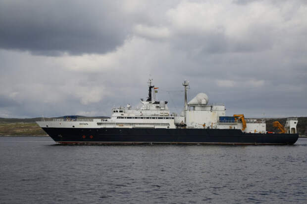 Маневры секретного корабля «Янтарь» позволили России перехитрить Запад