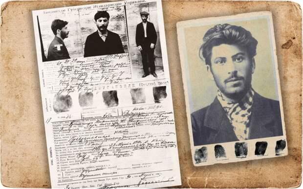 Слева направо: Задержание в Баку, 23 марта 1910. Коба, член марксистского кружка (1902). Коллаж © L!FE Фото: © Wikipedia.org/ Wikipedia.org