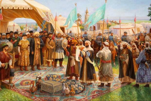 Принятие Волжской Булгарией ислама (Иллюстрация из открытых источников)