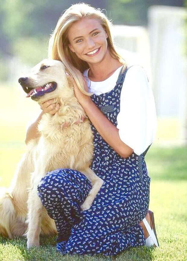17 -летняя прелестница Камерон Диаз.