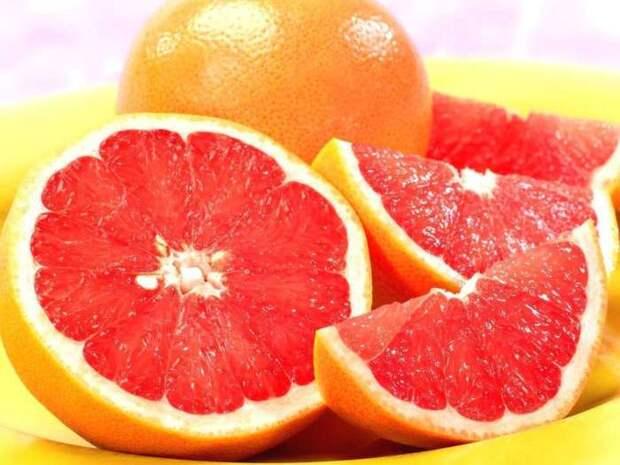 Грейпфрут полезен не только внутри, но и снаружи. /Фото: xcook.info