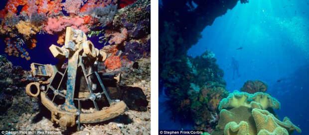 Подводное кладбище кораблей