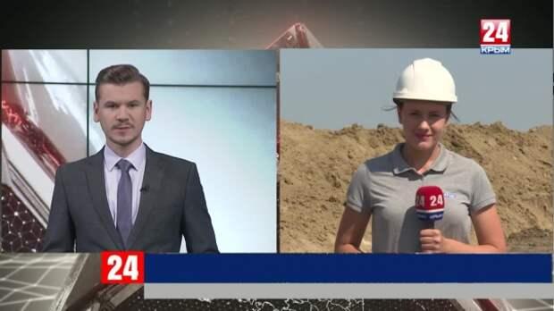 На каком этапе строительство водовода в Восточный Крым?