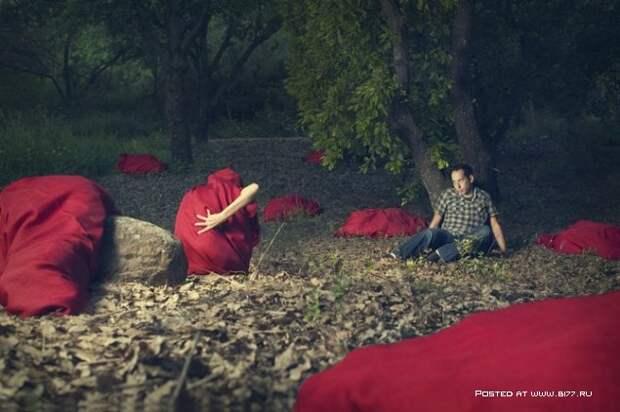 Сюрреалистичная фантазия - Фотограф Ronen Goldman (21 фото).