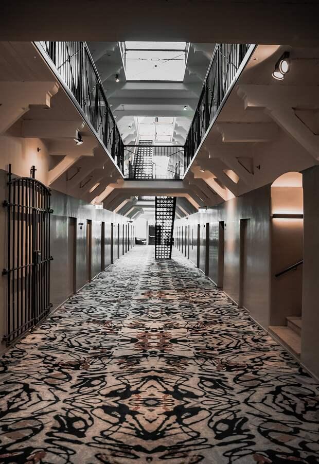 Уникальный отель-тюрьма в Хельсинки