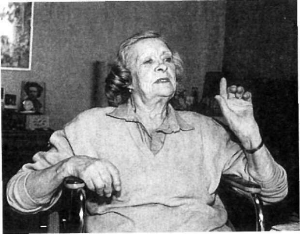 Мотогонщица Наталья Андросова, урождённая княжна Искандер
