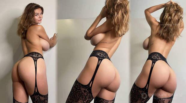 21-летняя американская звезда социальных сетей и модель Эшли Терворт (Ashley Tervort) в откровенной фотосессии