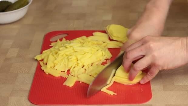 ПРИГОТОВЛЕНИЕ IrinaCooking, видео рецепт, еда, кулинария, куриный салат, рецепт, салат гнездо глухаря