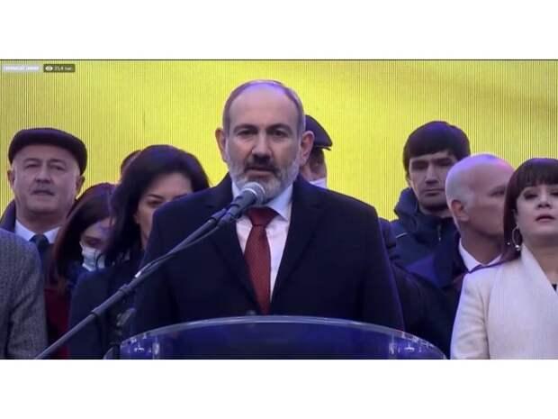 Маховик самоуничтожения Армении запущен