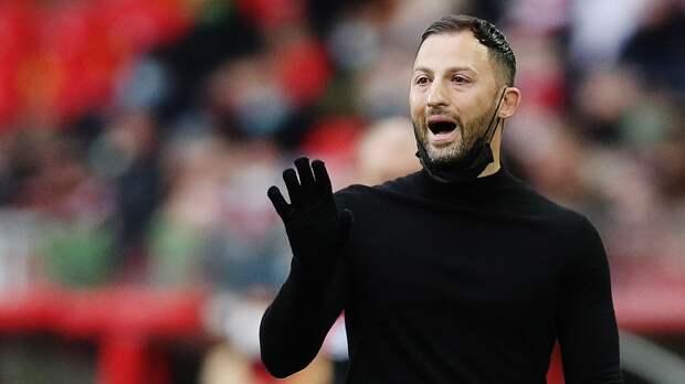 В Германии назвали Тедеско кандидатом на пост главного тренера «Гамбурга»