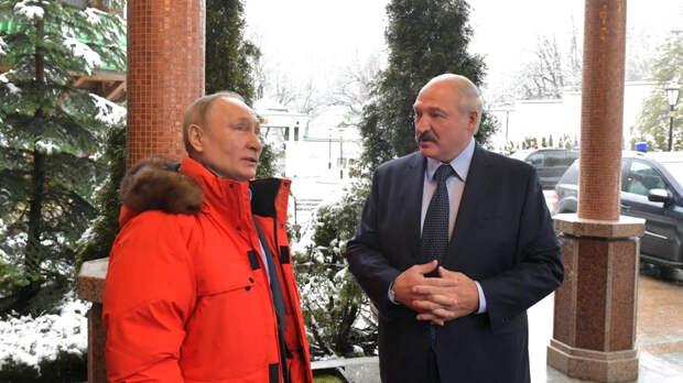 Путин и Лукашенко проведут переговоры в Москве