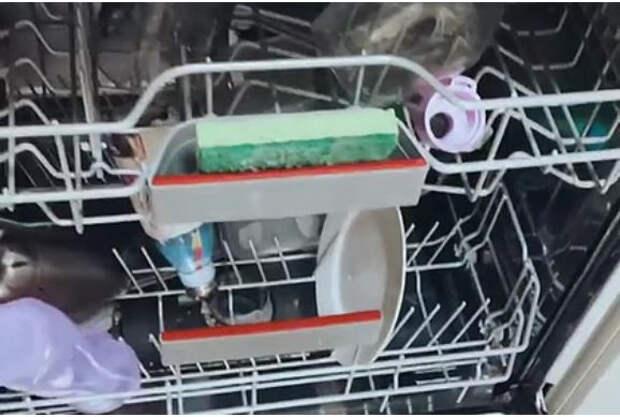 Блогерша раскрыла опасность губки для мытья посуды и показала способ ее очистки