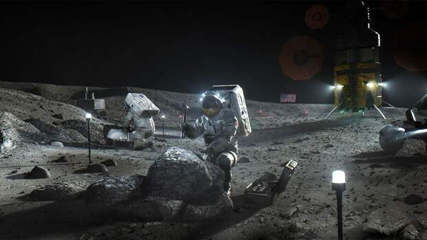 В NASA заявили о необходимости выработки американских ценностей на Луне