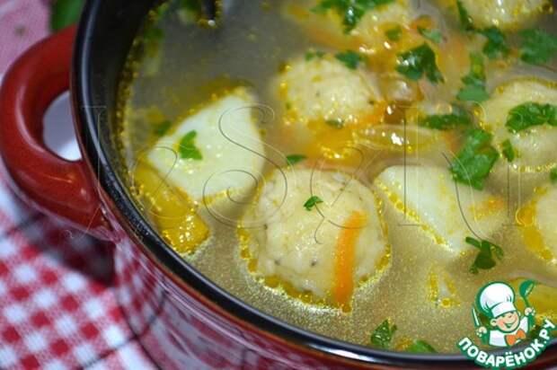 ПОСИДИМ, ПОЕДИМ... Овощной суп с сырными шариками