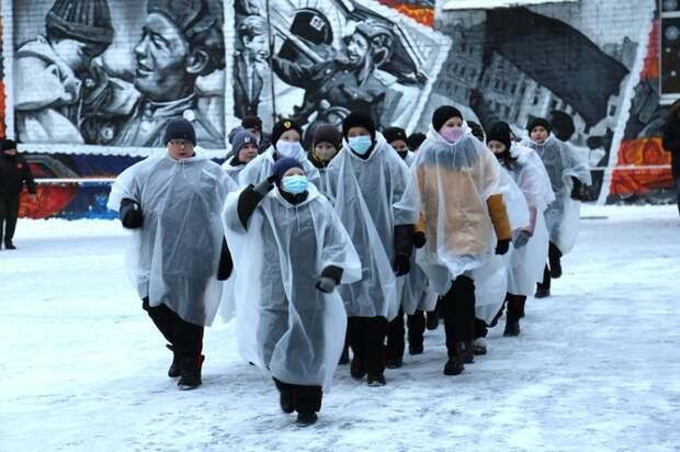 На территории ижевской кадетской школы открыли военный плац