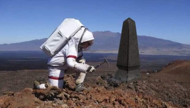 Похороны по-марсиански, или Как будут выглядеть кладбища на Красной планете