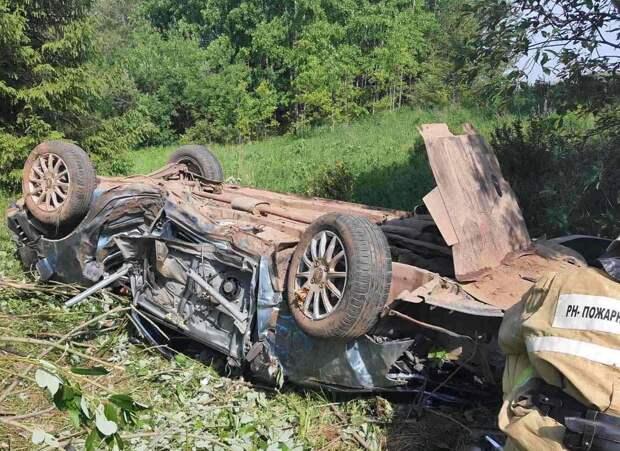 Водитель иномарки погиб в Шарканском районе Удмуртии