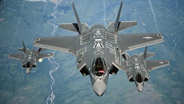 Американские истребители Lockheed Martin F-35 Lightning II