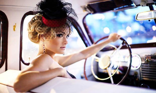 Не блондинка за рулем