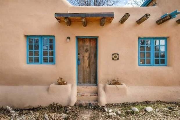 Глиняный дом по старинной технологии народов пуэбло дом, народ пуэбло