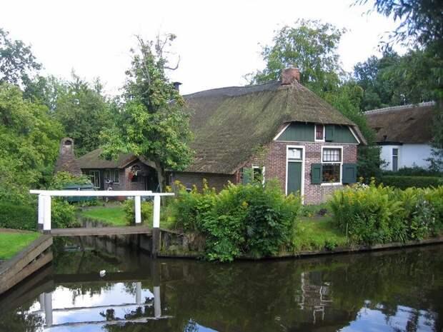 Giethoorn10 Гитхорн: деревня, где нет дорог