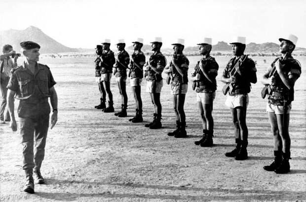Боевые операции Иностранного легиона во второй половине XX века (окончание)