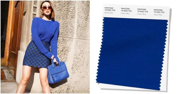 Модные цвета для тех, кто хочет быть в центре внимания. Осень-зима 2020-2021