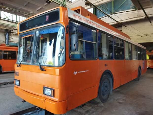 Все троллейбусы в Нижнем Новгороде станут оранжевыми