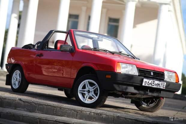 В России продают экспортный кабриолет Lada из Канады за 1,3 млн рублей