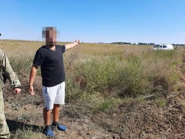 Украинец без документов пытался прорваться в Крым на отдых
